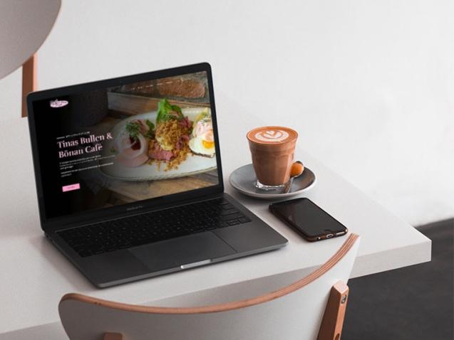 Tinas Bullen och Bönan Café ny hemsida